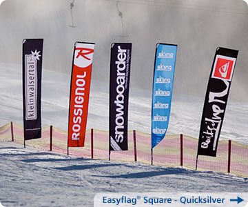 Beachflag-Quicksilver