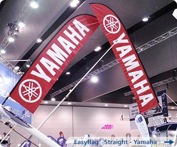 Beachflag-Yamaha