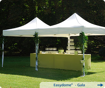 Faltpavillon-Gala