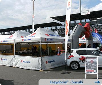 Faltpavillon-Suzuki