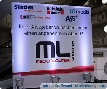 Messestand-Medienlounge