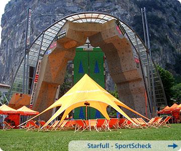 SportScheck-Zelt