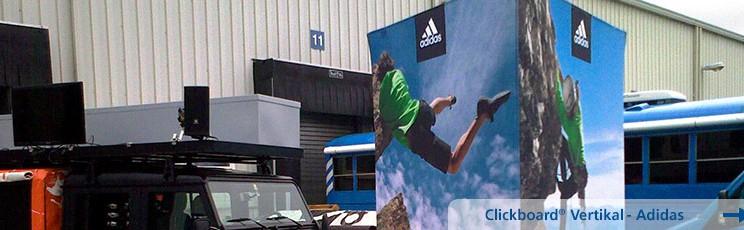 Werbe-Banner-Adidas