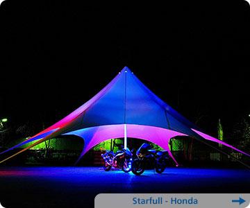 Zelt-Honda